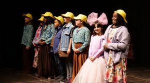 """""""Leon und Isabel entdecken die Gereuth"""" auf der Bühne"""