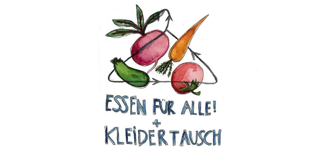 14.03. // Kleidertausch + Essen für Alle!