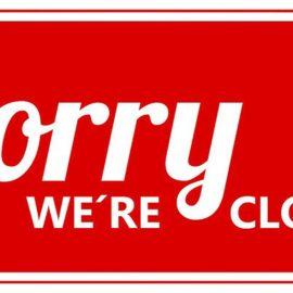 23.11. // Juz geschlossen!