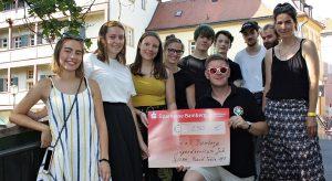 Round Table unterstützt junge Kunstkultur im Juz