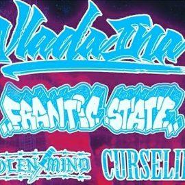 Hardcore – Konzert von Vlada Ina, Frantic State, Curselife und Stolen Mind