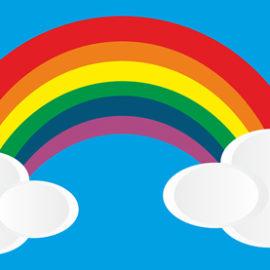Schenkt uns euren Regenbogen!