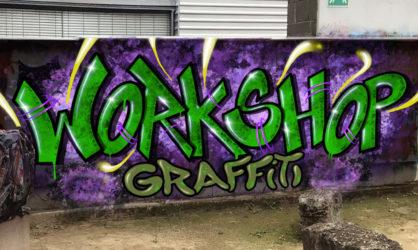 Graffiti-Workshop im JuZ